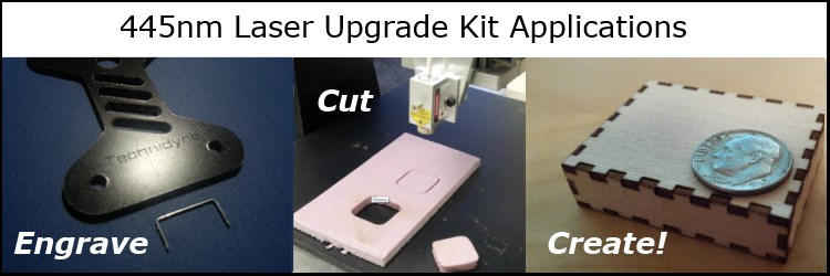 445nm Laser Upgrade Kit Applications