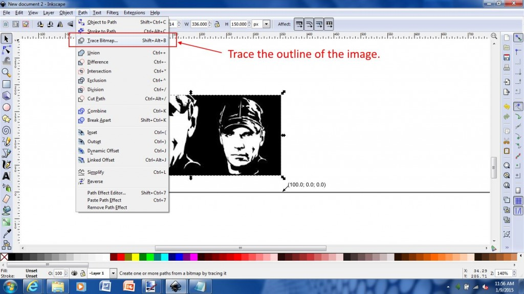 2 Trace Outline