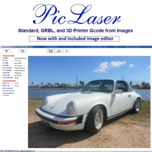 PicLaser Product Photo Porsche -800